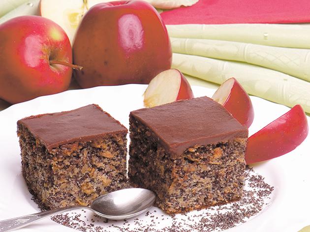 Dijabetes ishrana, recepti za dijabetičare, Kolač sa makom i jabukama