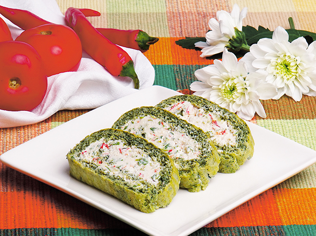 Dijabetes ishrana, recepti za dijabetičare, Zeleni rolat sa sirom