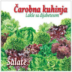 Obrok salate, prilog salate, dezert salate, Kuvar za dijabetičare Čarobna kuhinja