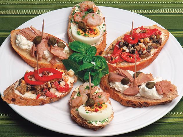 mali španski sendviči za dijabetičare, za osobe sa dijabetesom, recept za tapase u kuvaru Čarobna kuhinja